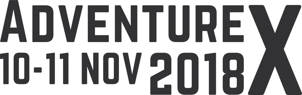 AdventureX Logo with Date